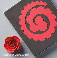 Easy Paper Flower Easy Paper Flowers From Stampin Up