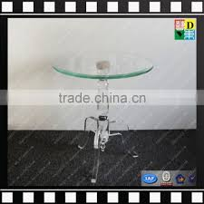 clear acrylic small round coffee table glasarble base cafe table from shenzhen yidong of acrylic furnitures from china suppliers 142333954