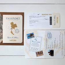 Passport Booklet Template Passport Wedding Invitation Under Fontanacountryinn Com