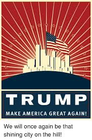 Image result for america shining city on hill