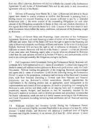 Forbearance Agreement Template - Solarfm.tk