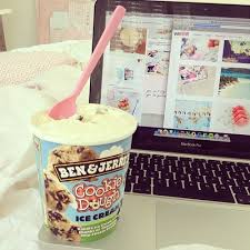 ben and jerry s ice cream tumblr. Ice Cream Food And Laptop Image Inside Ben Jerry Tumblr