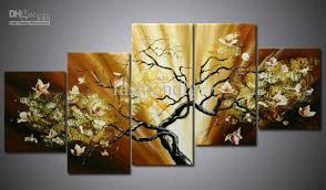 wall paintings for office. 2017 oil painting canva flower landscape modern home decoration office hotel wall art decor handmade gift from fashiondig 7821 dhgatecom paintings for i