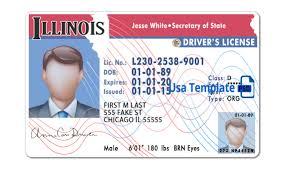 Illinois License Drivers Image Illinois Image Drivers License Illinois