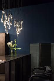 ocher rectangular 2 buds chandelier