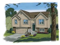 100 1192 this is an artist s rendering of these split level house plans