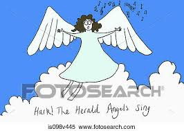 hark the herald angels sing clipart.  Sing Angel Singing Hark The Herald Angels Sing Illustration On Hark The Herald Angels Sing Clipart B