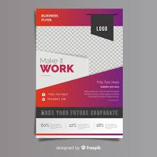 How To Make A Business Flyer Business Flyer Template Vector Free Download