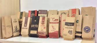 Kết quả hình ảnh cho in túi cà phê