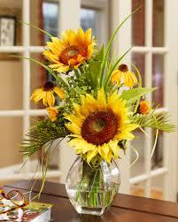 arrangements small arrangement designs sunflower silk flower arrangement yellow fla ye zoom x sunflower silk