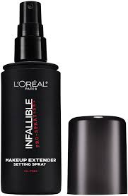 infallible pro spray set makeup extender setting spray