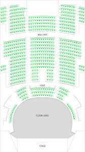 Myth Live Seating Chart Venue Specs Palace Theatre