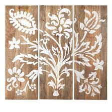 home decorators collection 40 in h x 14 in w grey faria wood with 3 panel wall art wood on home decorators wall art with home decorators collection 40 in h x 14 in w grey faria wood with 3
