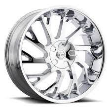 Vct V77 Wheel 20x8 5 5x108 5x4 5 5x114 3 Chrome 40mm Wheel And Tire Packages Chrome Wheels Rims For Sale