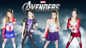 diy marvel avengers costumes easy girl group costume cool group cos