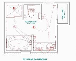 Download Best small master bathroom floor plans with closet