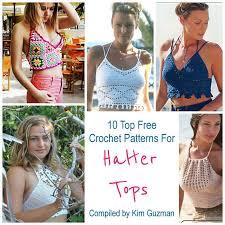 Free Crochet Halter Top Pattern New Link Blast 48 Top Free Crochet Patterns For Halter Tops CrochetKim™