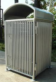 commercial outdoor trash cans. Small Of Comfy Sale Trash Basket 55 Gallon Outdoor Receptacles Park Cans Rectangular Commercial