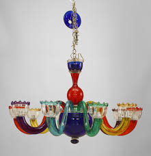 modern colorful chandelier. Astonishing Colored Glass Chandelier Photos Modern Colorful R