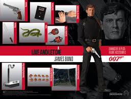James Bond Comparison Chart James Bond James Bond Sixth Scale Figure By Big Chief Studio