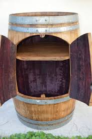 Wood barrel furniture Ice Chest Wine Barrel Furniture Like This Cabinet Can Serve Two Functions As Tv Stand Too Ebay Upcycled Wine Barrel Furniture 1001 Pallets