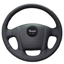 <b>Heated Car</b> Steering Wheel Cover for Kia Sportage 2 2005 2010 ...