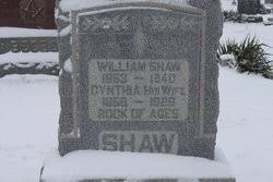Cynthia Hollen Shaw (1859-1926) - Find A Grave Memorial