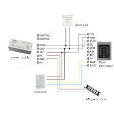 rfid security reader entry door lock keypad access control system rfid security reader entry door lock keypad access control system 10 pcs keys