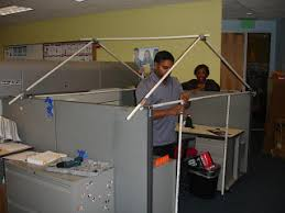 office cubicle roof. STEP 1: Identify A Cubicle Of Co-worker And Enlist The Help Several People At Work. Home Depot Provides Great Construction Material For Frame. Office Roof L