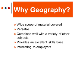 geography what will it do for you whystudygeography ppt  2 why geography