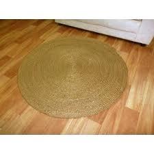 round jute rug 8 rugs braided plain dark copper brown circle floor chenille 8x10 round jute rug 8