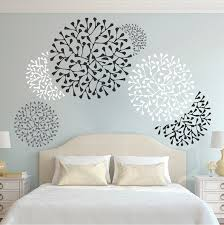 Small Picture Beautiful Wall Accent Decals Bedroom Wall Stencils Removable