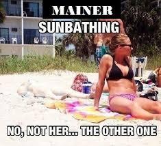 The Fair-Skinned Maine Girls | Maine Memes via Relatably.com