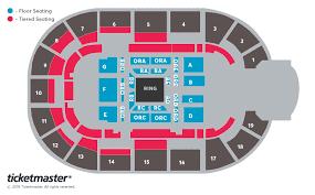 Motorpoint Arena Seating Plan Wwe Raw