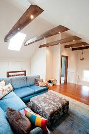 beams lighting. Beam Lighting Ideas Family Room Contemporary With Colorful Pillows Vaulted Ceiling Blue Couch Beams M