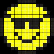 Emoji Perler Bead Patterns Simple 48 Best Perler Beads Emojis Images On Pinterest Bead Patterns