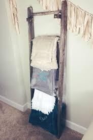Throw Blanket Storage