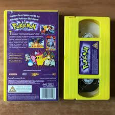 Pokemon The First Movie Mewtwo Vs. Mew Manga, Anime, Childrens, Pal VHS–  Golden Class Movies LTD