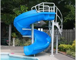 Swirly Slides Vortex Pool Slide S R Smith Pool Slides