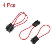 4pcs universal plastic red black wiring fuse holder box block for Single Pole Fuse Holder image is loading 4pcs universal plastic red black wiring fuse holder