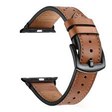 zeiger 38mm 40mm or 42mm 44mm calfskin leather band for all iwatch versions variety of styles and colors genuine leather watches strap for iwatch on