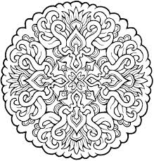 Free Coloring Pages Mandala Unique Design Mandala Coloring Pages For