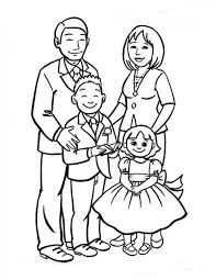 Small Picture Coloring Pages About Family Coloring Coloring Pages