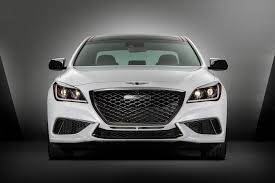 2018 genesis white. simple genesis 2018 genesis g80 sport front view 02 inside genesis white 0