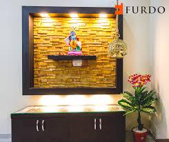 Main Entrance Foyer Designs Stone Cladded Foyer With Hindu Idol By Furdo Hall Wall