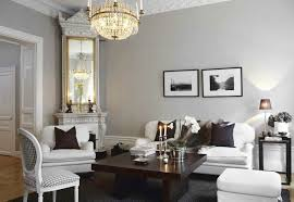 Living Rooms With Gray Walls,Swedish Living Room - French - living room -  Skonahem