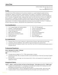Professional Resume Samples Free And Best Solutions Professional