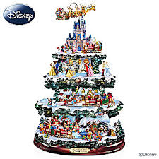 tabletop christmas trees. the ultimate disney 50-character tabletop christmas tree trees