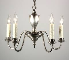 chandeliers colonial revival chandelier elegant antique five light silver plated sold c bowl shade colonial revival