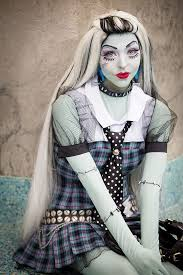 frankie stein from monster high cosplay ikaze2016